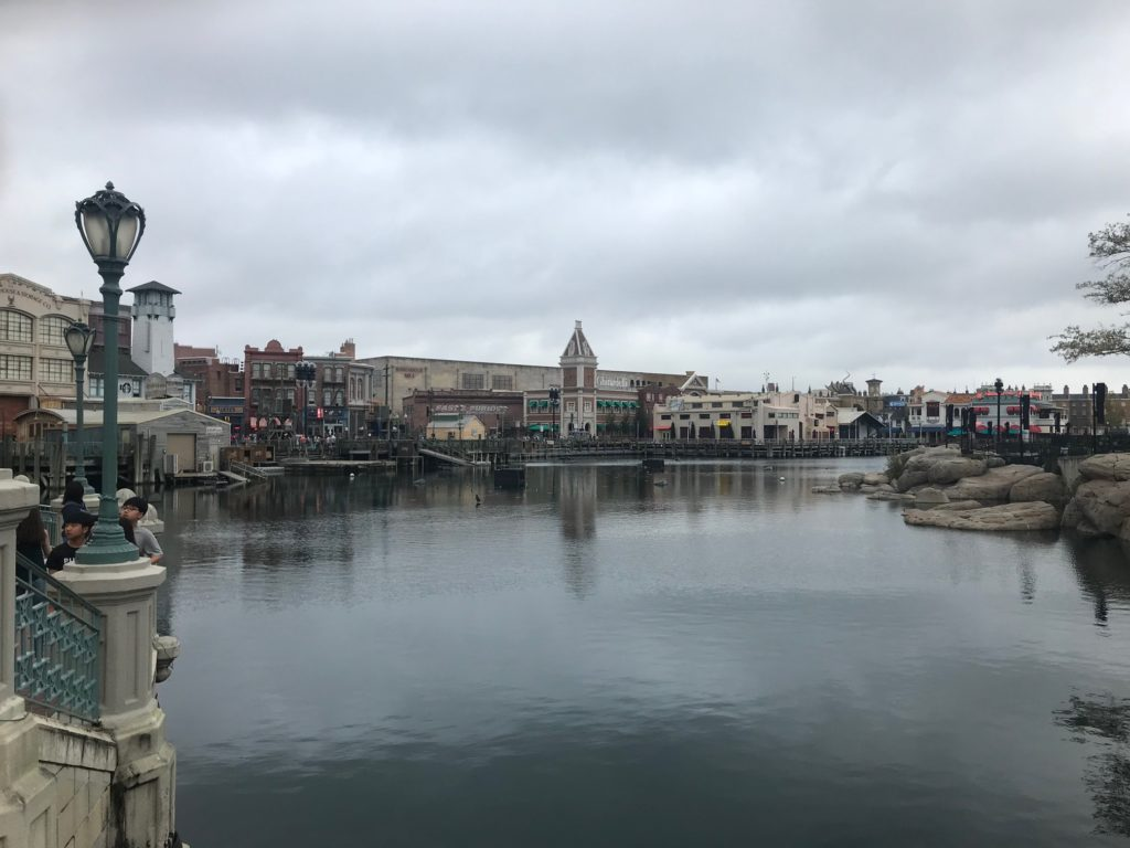 Universal Studios lagoon