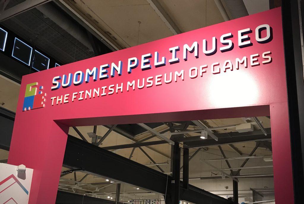 Viikonloppu Tampereella: Suomen Pelimuseo Vapriikissa.