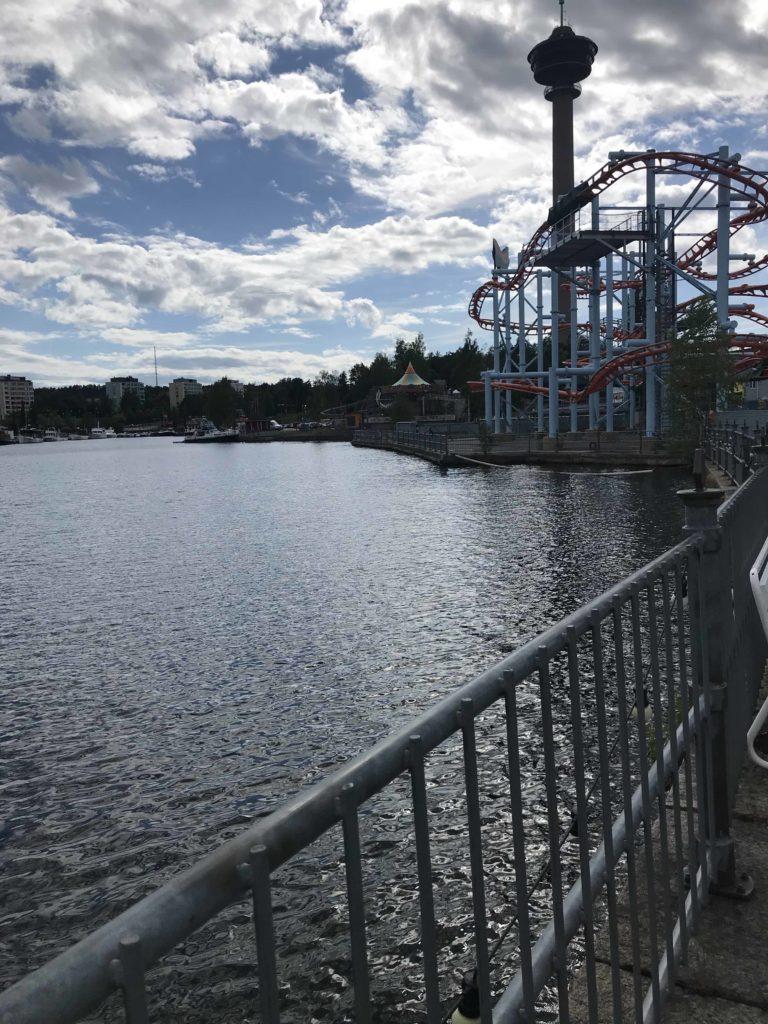 Viikonloppu Tampereella lasten kanssa. Särkänniemessä.