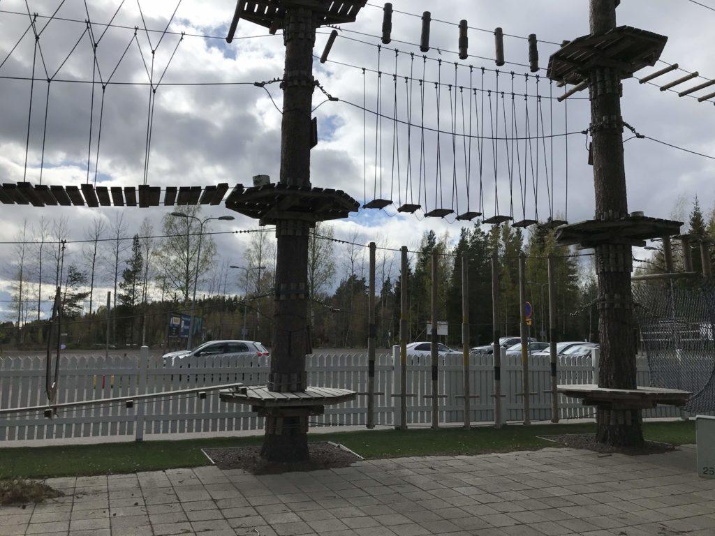 Talma Activity Park. 1- ja 2-tason kiipeilyä.