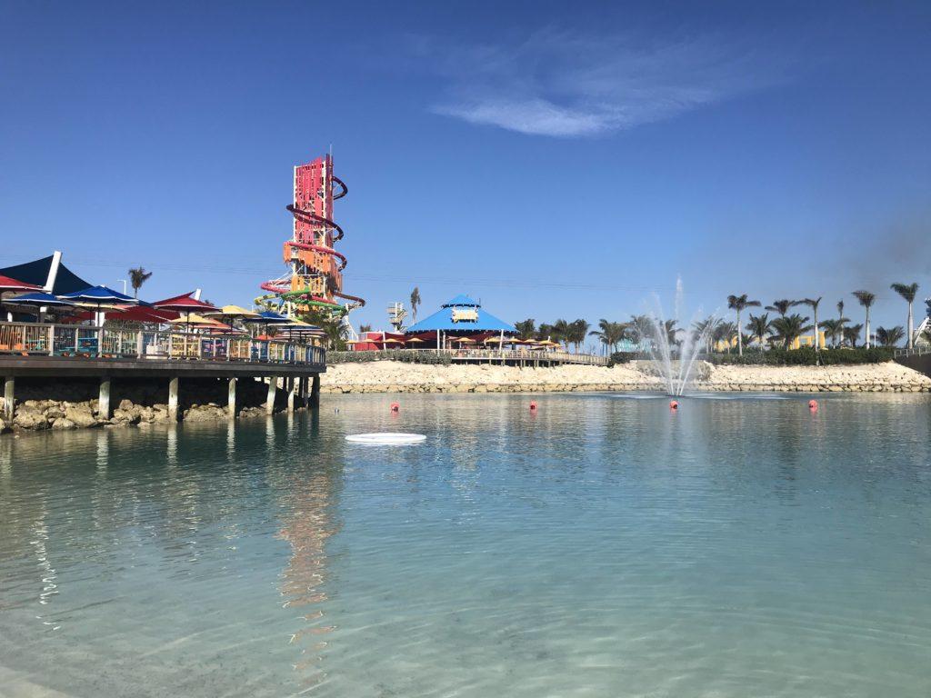 Karibian risteily: Royal Caribbean oma saari Bahamalla; CocoCay.