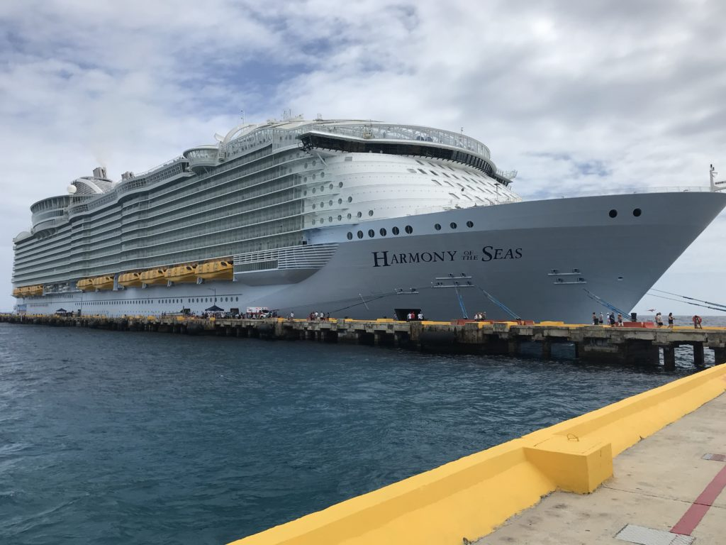 Harmony of the Seas-laiva Meksikossa.