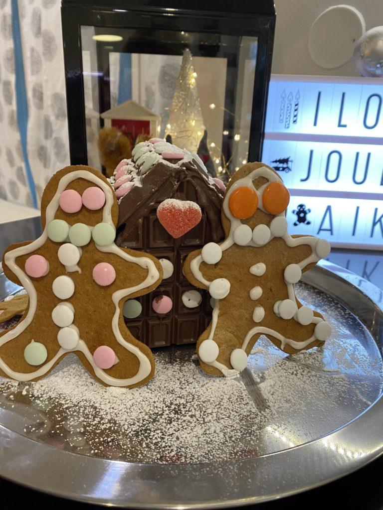 Joulun 2020 piparitalo onkin suklaasta!