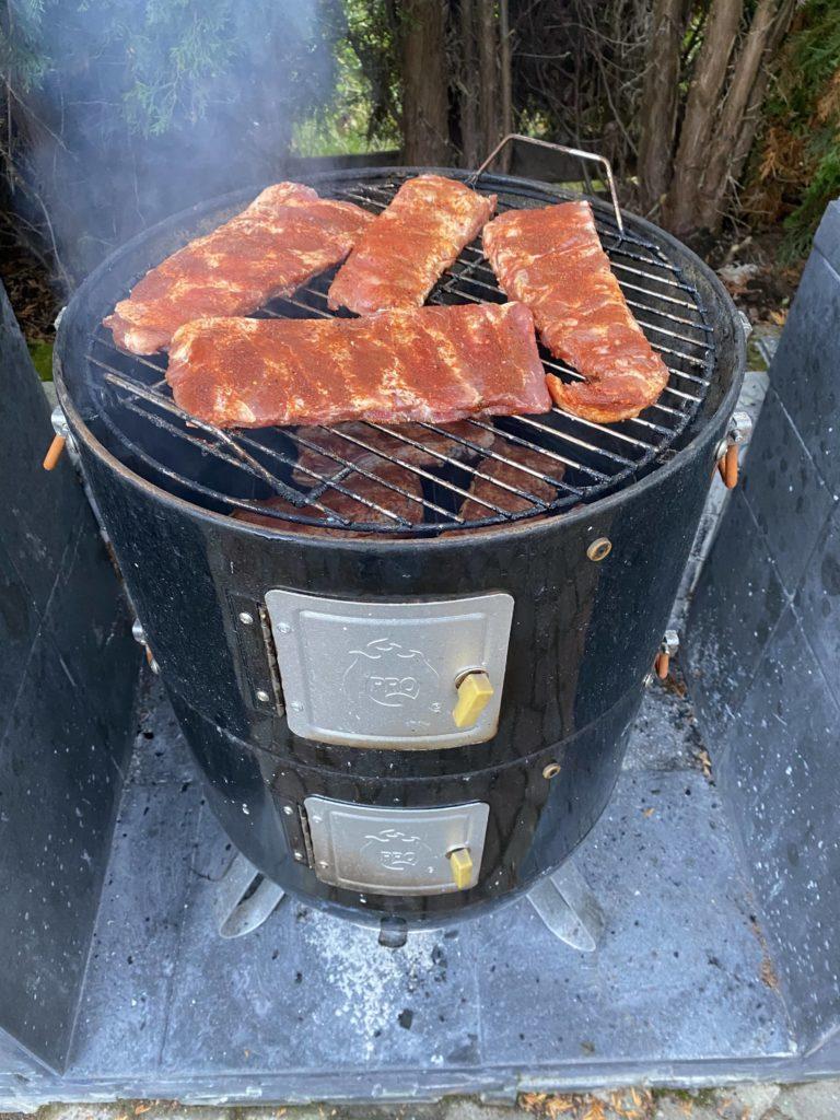 Lihan savustaminen