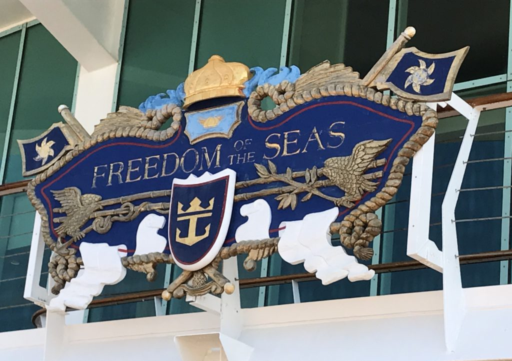 Freedom of the Seas-laivalla.
