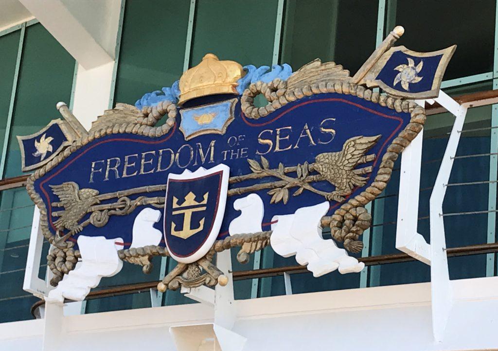 Freedom of the Seas-laivalla.