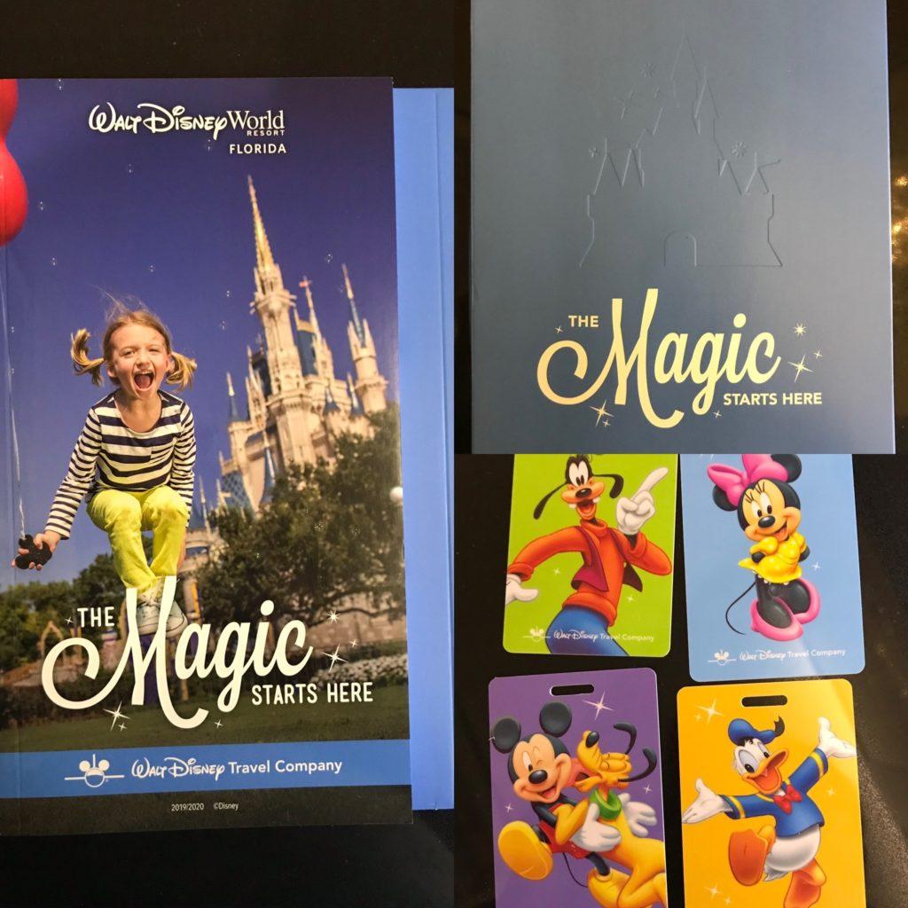 Walt Disney Worldin matkaan valmistautumista.