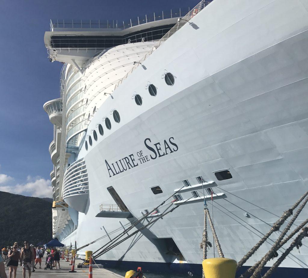 Allure of the Seas-laiva.
