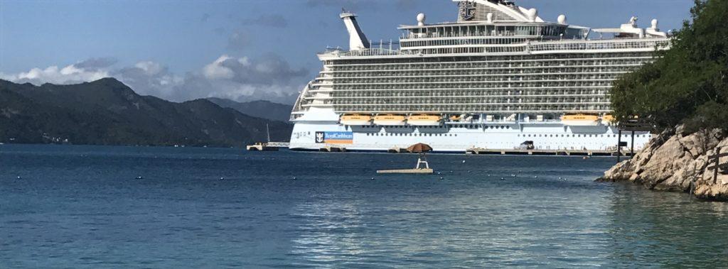 Haitilla Royal Caribbean Cruise Linen- laivalla.