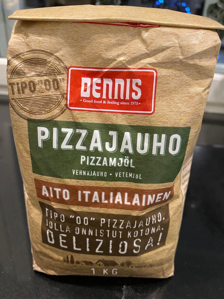 Pizzauuni. Laadukas jauho on tärkeä taikinaa tehtäessä.