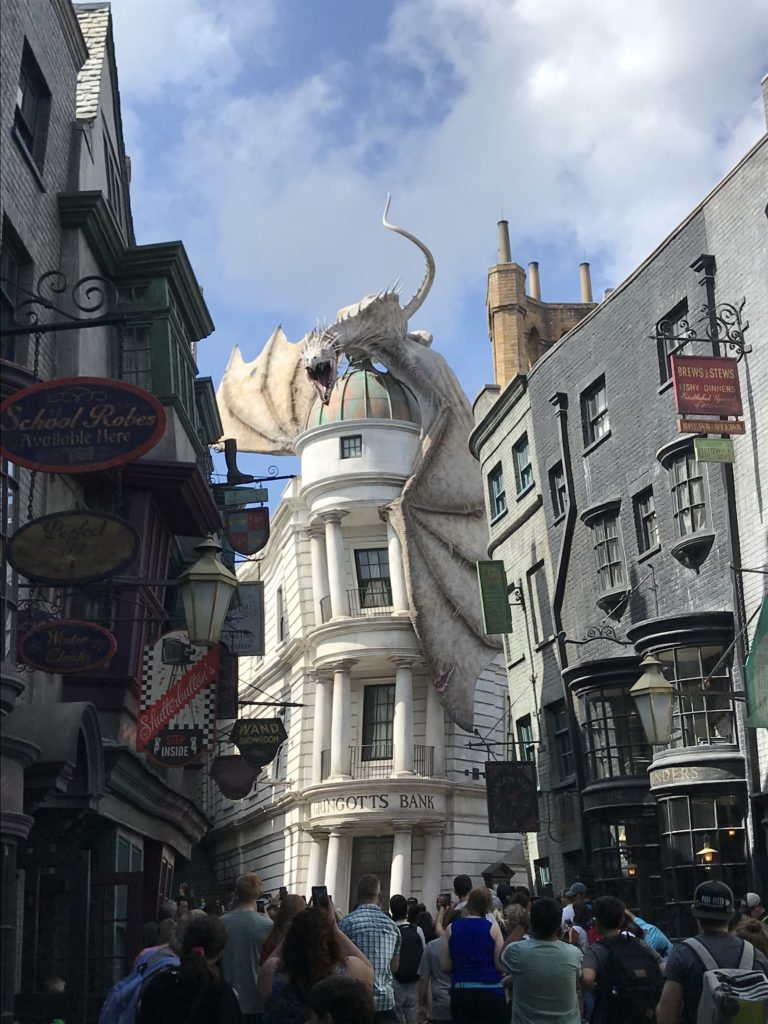 Wizarding World of Harry Potter Orlandon Universal Studioilla.