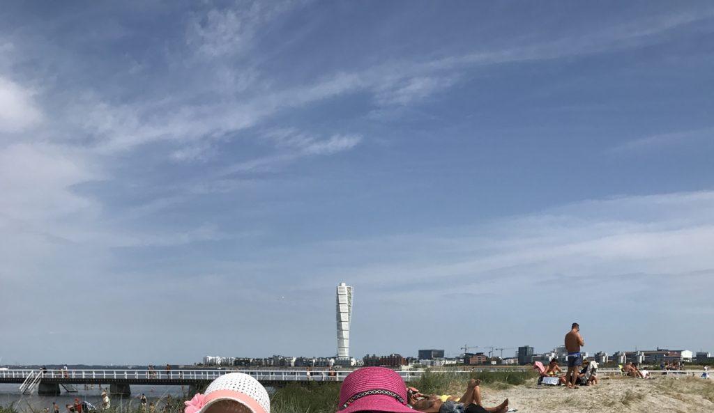 Malmön ranta Ribban.
