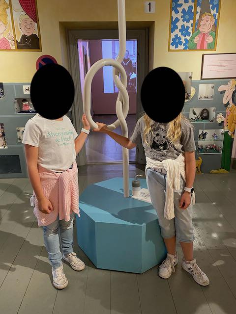 Lasten museossa.