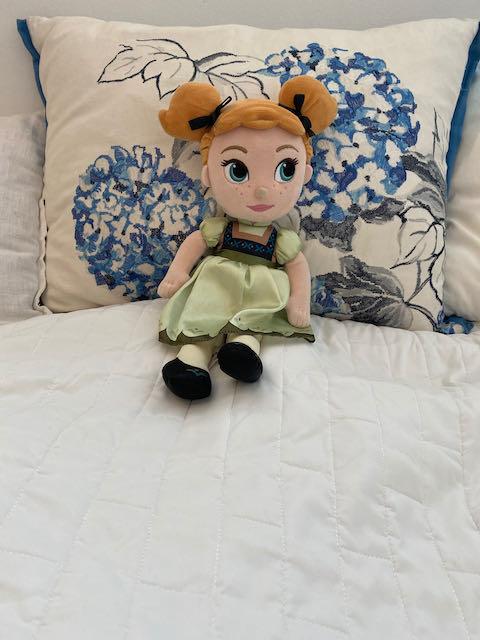 Koululaisen oma sänky.