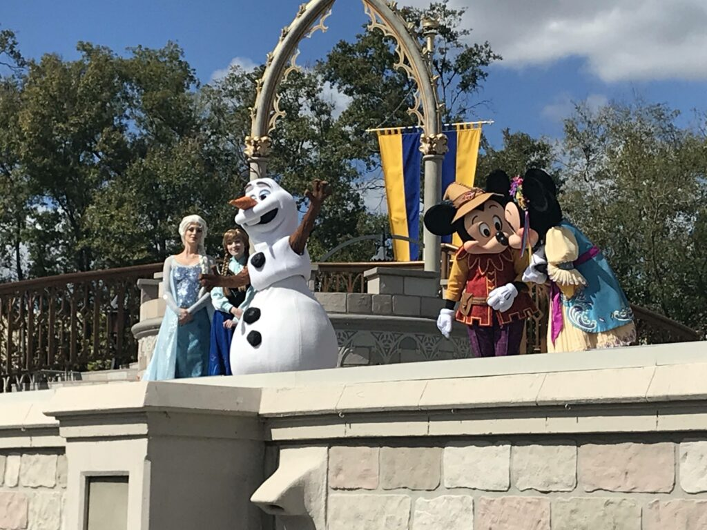Disney:n hahmoja.