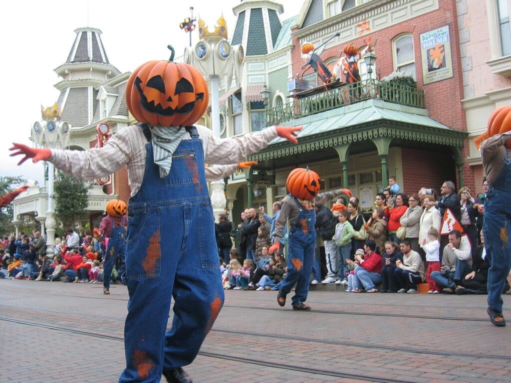 Halloween paraati.