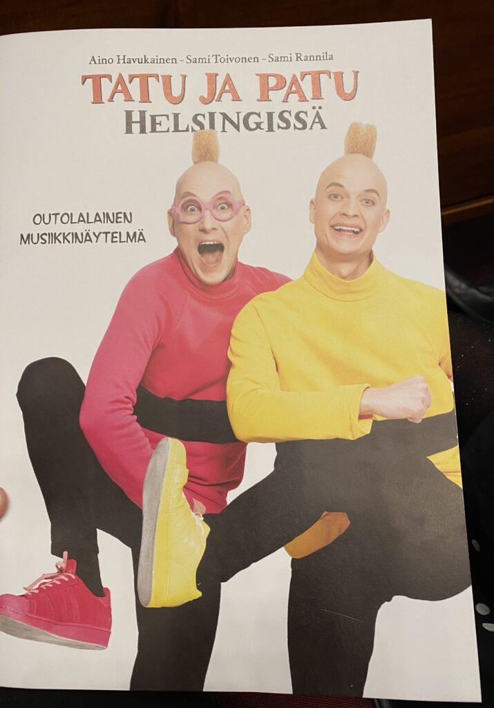 Tatu ja Patu Helsingissä-teatteri.